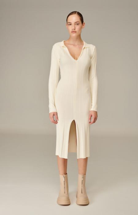 Josephine Knit Dress Brown